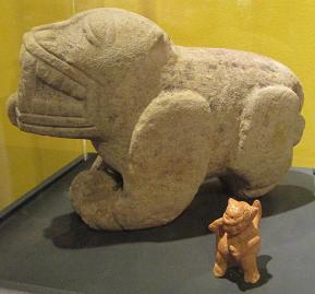 More old cat sculptures
