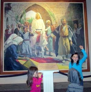 Jesus and the grandchildren