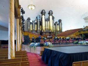 Where the choir sings