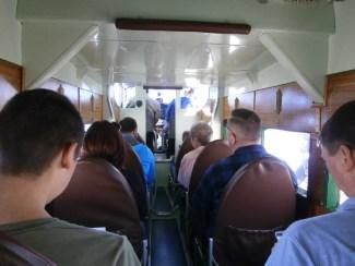 Tri-Motor interior