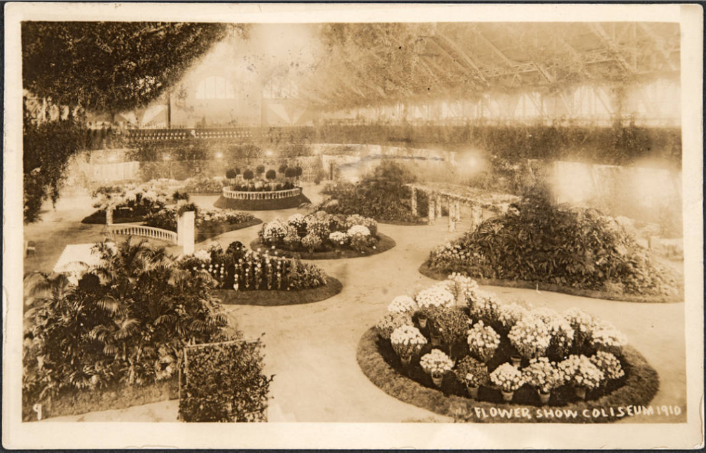 The 1910 Chicago Flower Show - not much has changed